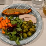 Friendsgiving plate