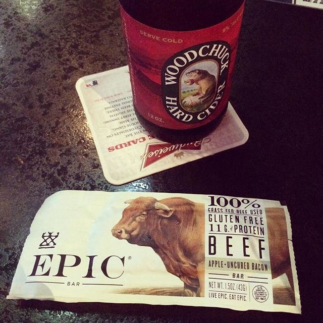 woodchuck and epic bar
