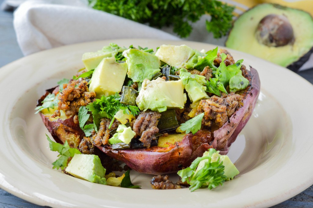 AIP Paleo Taco Stuffed Baked Sweet Potatoes {Gluten-Free, Grain-Free ...
