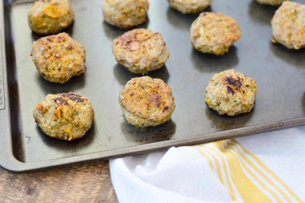 Plantain Chip Turkey and Veggie Meatballs {AIP Paleo, Whole 30, Gluten-Free, Grain-Free, Dairy-Free, Egg-Free, Nightshade-Free}  cleaneatingveggiegirl.com