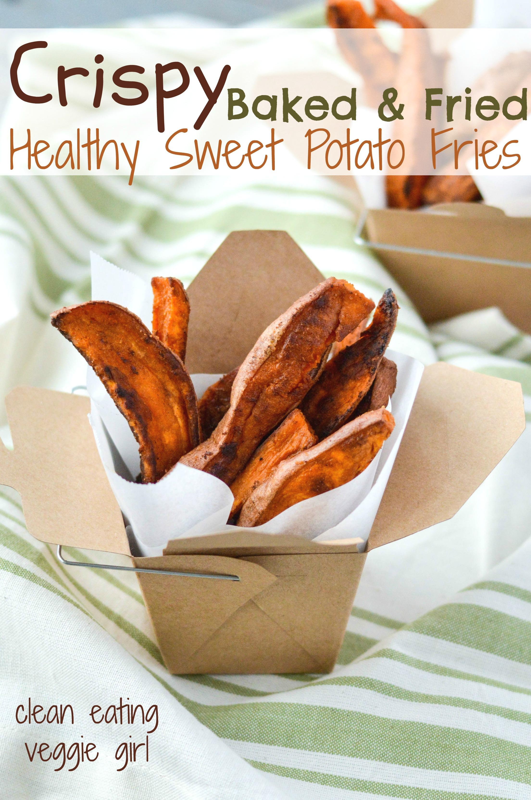 Crispy Baked Fried Healthy Sweet Potato Fries Aip Paleo Gluten Free