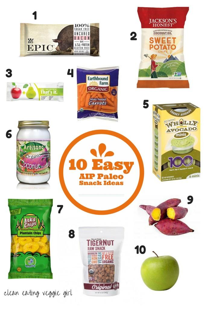 10 Easy AIP Paleo Snack Ideas   cleaneatingveggiegirl.com