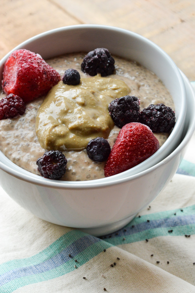Paleo Banana-Free Chia Pudding {Gluten-Free, Grain-Free, Dairy-Free, Vegan, Nightshade-Free, Nut-Free} | cleaneatingveggiegirl.com