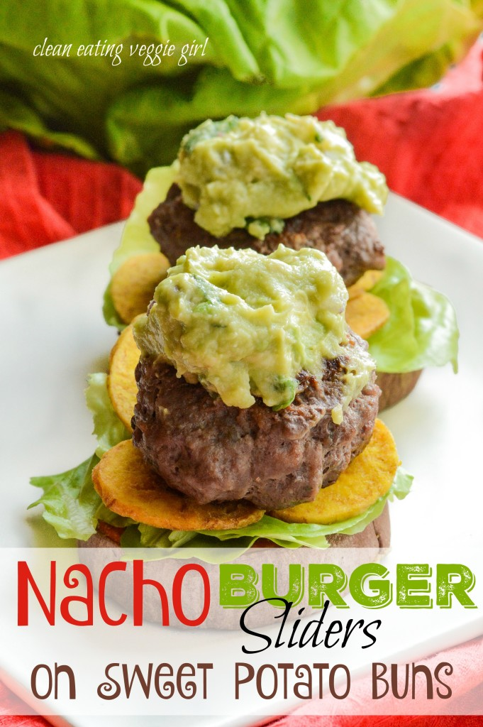 Nacho Burger Sliders on Sweet Potato Buns {AIP Paleo, Gluten-Free, Grain-Free, Dairy-Free, Egg-Free, Nightshade-Free, Whole 30}