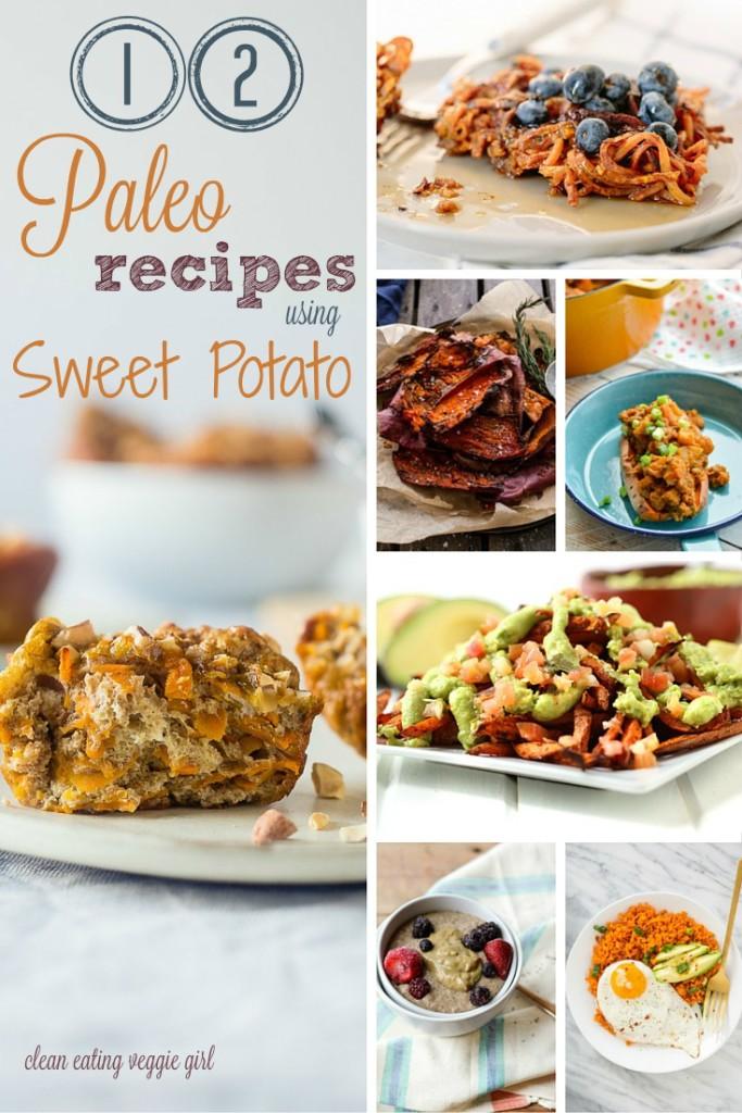12 Paleo Recipes Using Sweet Potato {Gluten-Free, Grain-Free, Dairy-Free}   cleaneatingveggiegirl.com