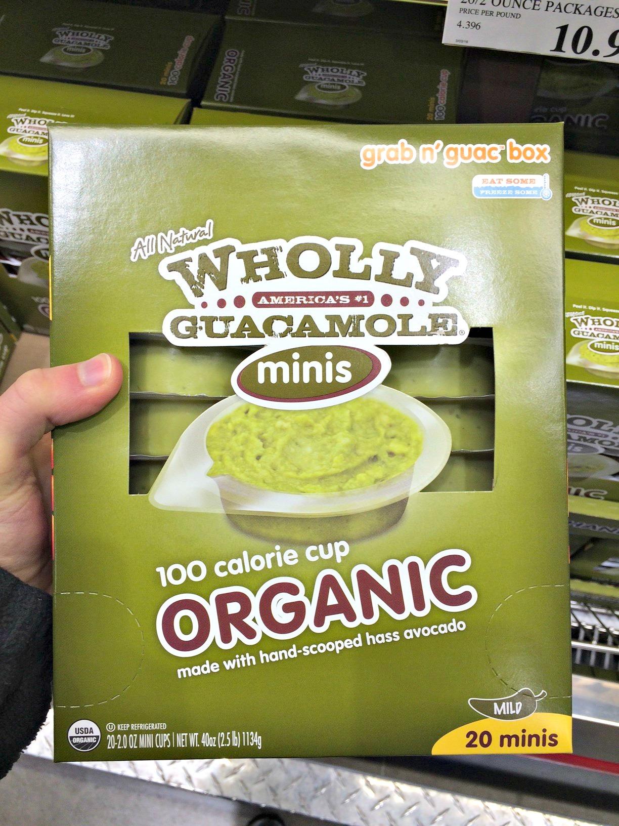 keto snack find: wholly guacamole minis bulk pack at costco : keto