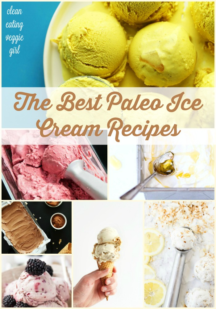 The Best Paleo Ice Cream Recipes {gluten-free, grain-free, dairy-free} | cleaneatingveggiegirl.com