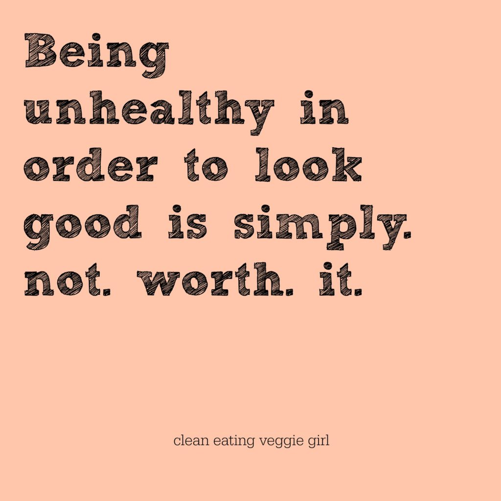Reasons I'm Not Working Toward a Bikini Body this Summer | cleaneatingveggiegirl.com #selflove
