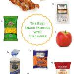 The Best Snack Pairings with Guacamole | cleaneatingveggiegirl.com