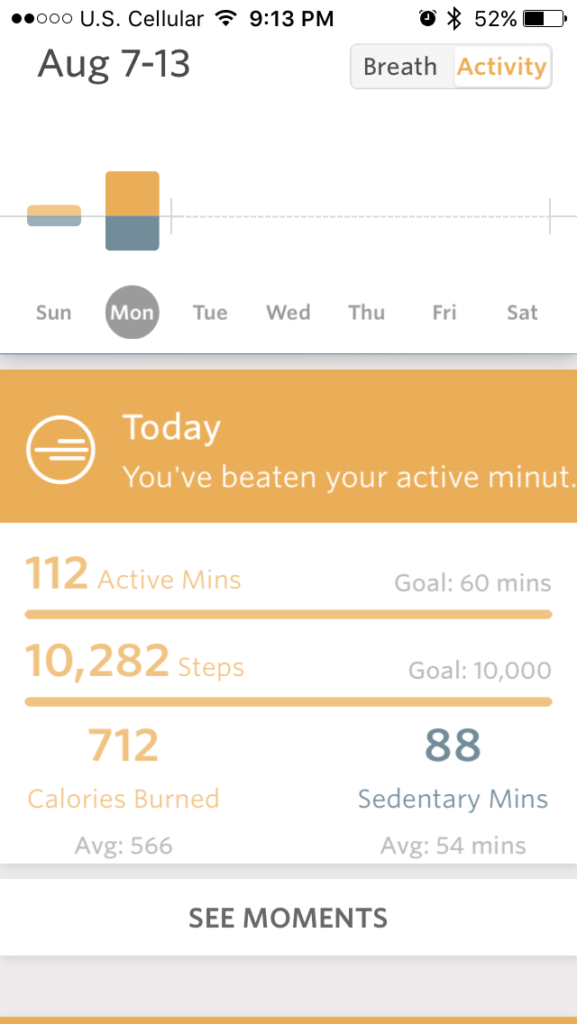 How I'm Incorporating Mindfulness into Each Day with the Spire Mindfulness + Activity Tracker | cleaneatingveggiegirl.com #ad #CG #inSpire @Spireio