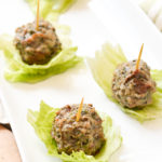 Chicken Bacon Ranch Meatballs {AIP Paleo, Gluten-Free, Grain-Free, Dairy-Free, Egg-Free, Soy-Free, Nut-Free, Nightshade-Free, Whole 30} | cleaneatingveggiegirl.com