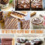 Paleo Dessert Recipes Made with Coconut | cleaneatingveggiegirl.com