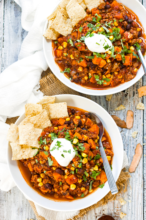 Gluten-Free Chili Soup Recipe Roundup | cleaneatingveggiegirl.com
