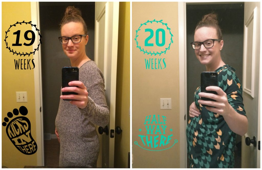 Week 22 Pregnancy Update | cleaneatingveggiegirl.com