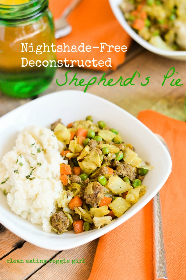 Nightshade-Free Deconstructed Shepherd's Pie {gluten-free, grain-free, dairy-free, soy-free} | cleaneatingveggiegirl.com