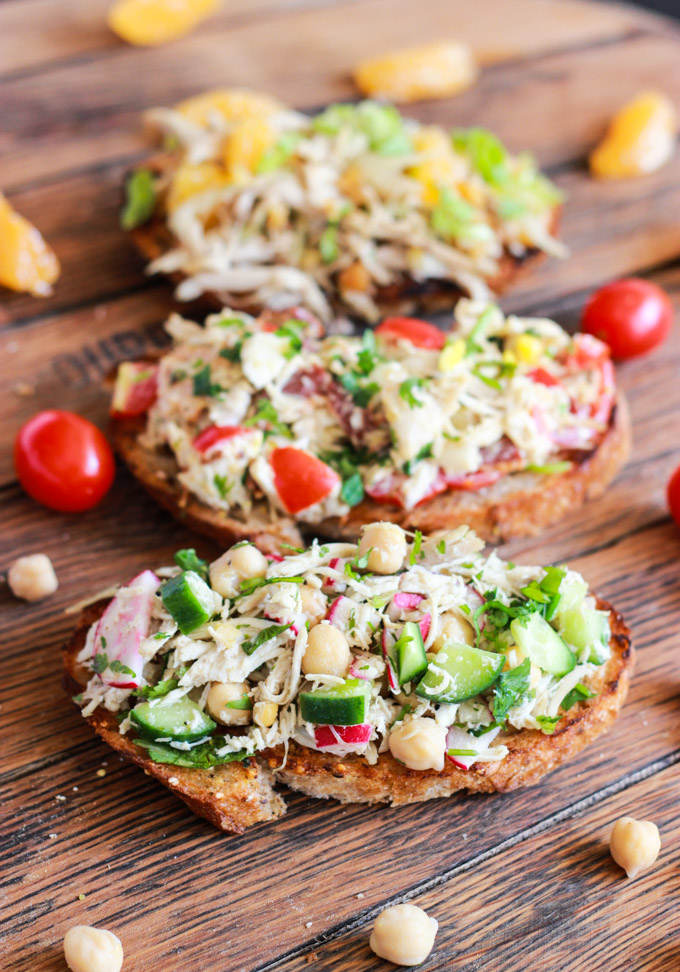 Gluten-Free Chicken Salad Sandwich Recipes | cleaneatingveggiegirl.com