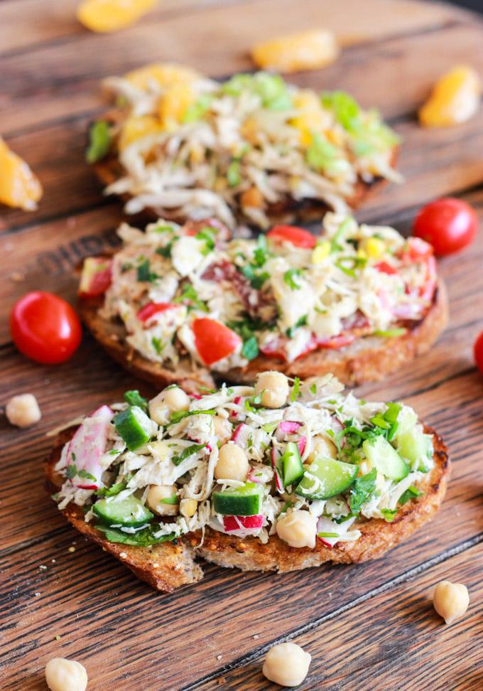 Gluten-Free Chicken Salad Sandwich Recipes | cleaneatingveggiegirl.com