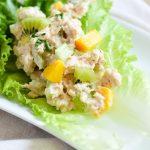 Paleo Tropical Tuna Salad {Gluten-Free, Grain-Free, Dairy-Free, Nightshade-Free, Soy-Free, Nut-Free, Pescetarian} | cleaneatingveggiegirl.com