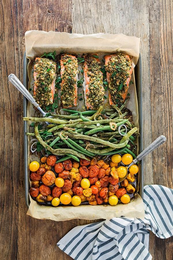 Gluten-Free Sheet Pan Dinner Recipes | cleaneatingveggiegirl.com