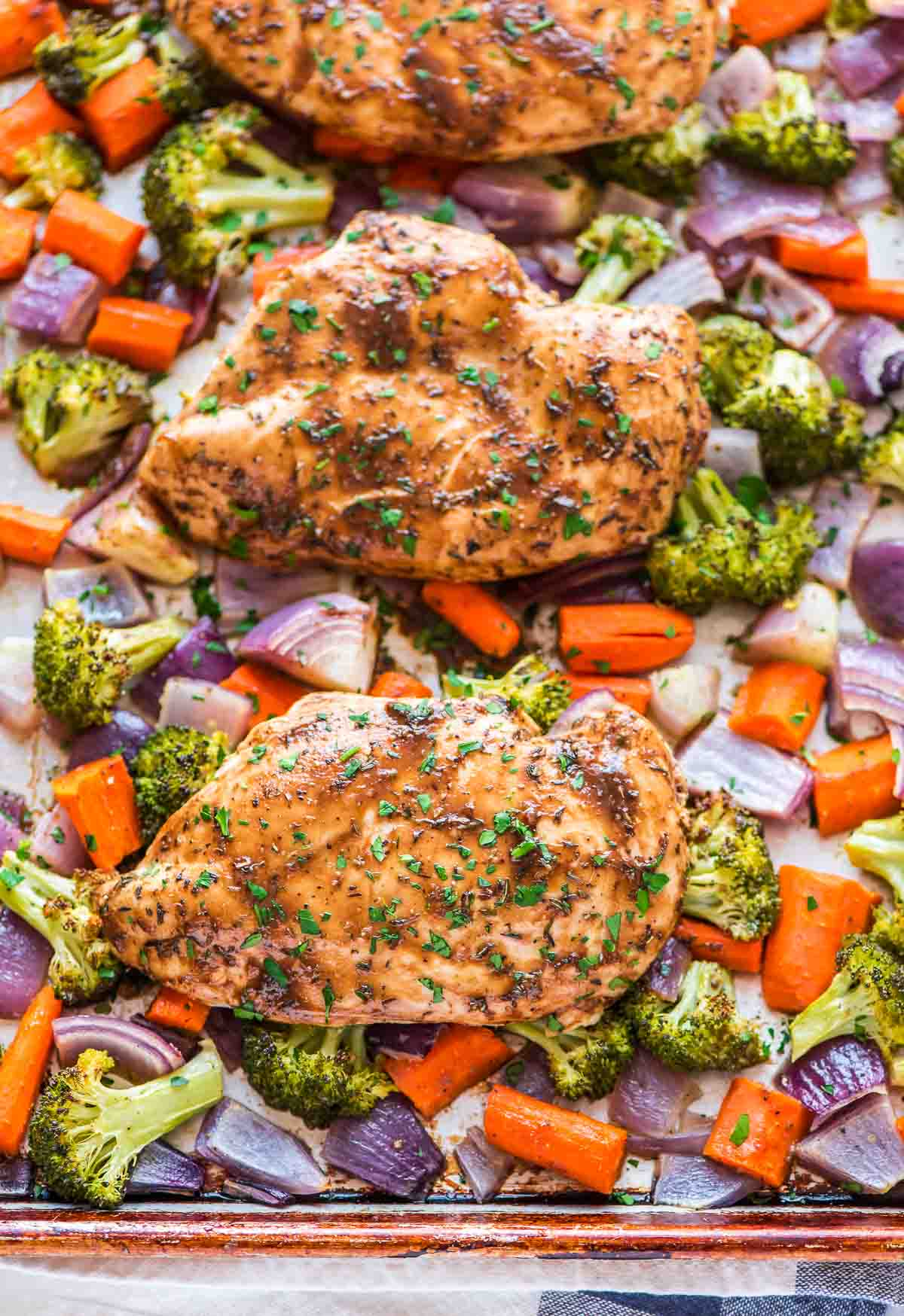 Gluten Free Sheet Pan Dinner Recipes Clean Eating Veggie