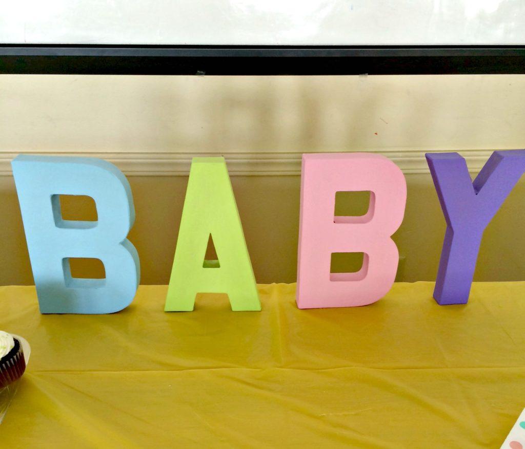 The Baby Shower   cleaneatingveggiegirl.com