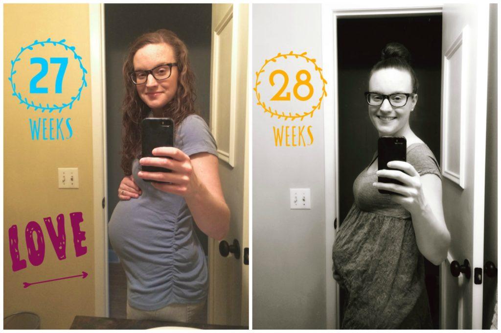 30 Week Pregnancy Update | cleaneatingveggiegirl.com