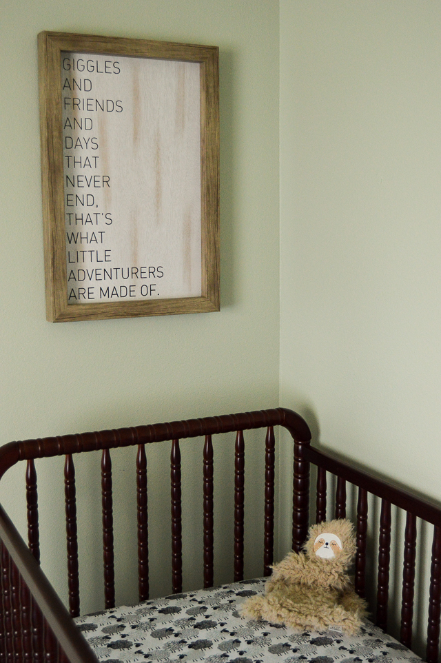 Our Gender Neutral Nursery Tour | cleaneatingveggiegirl.com