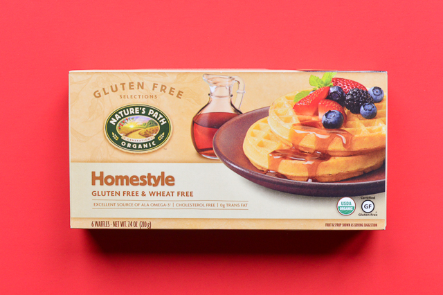 A review of the best frozen gluten-free waffles measuring taste, toasting ability, texture, quality of ingredients, and price.