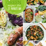 Collage of Green Gluten Free Recipes for St. Patrick's Day
