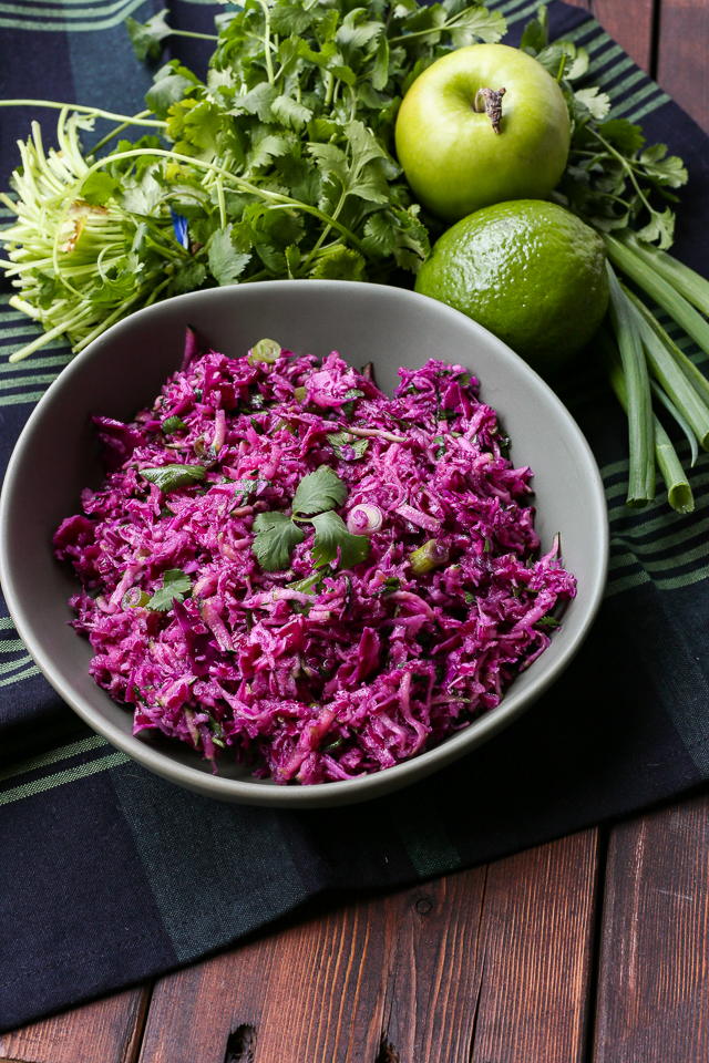Purple Paleo Coleslaw Recipe