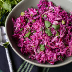 Healthy Purple Paleo Coleslaw Recipe