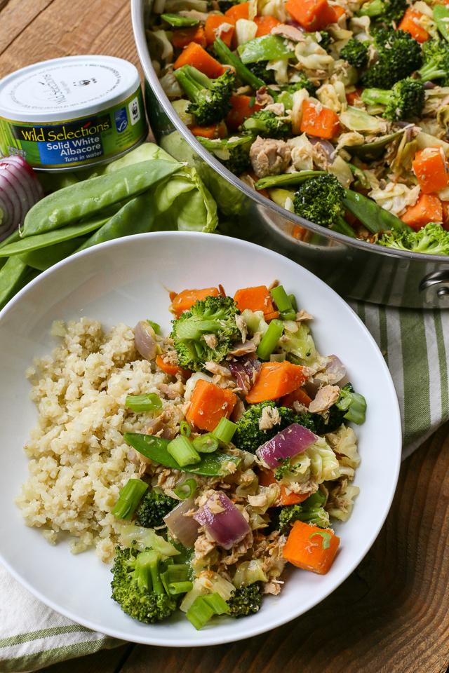 Healthy Tuna Stir Fry Recipe