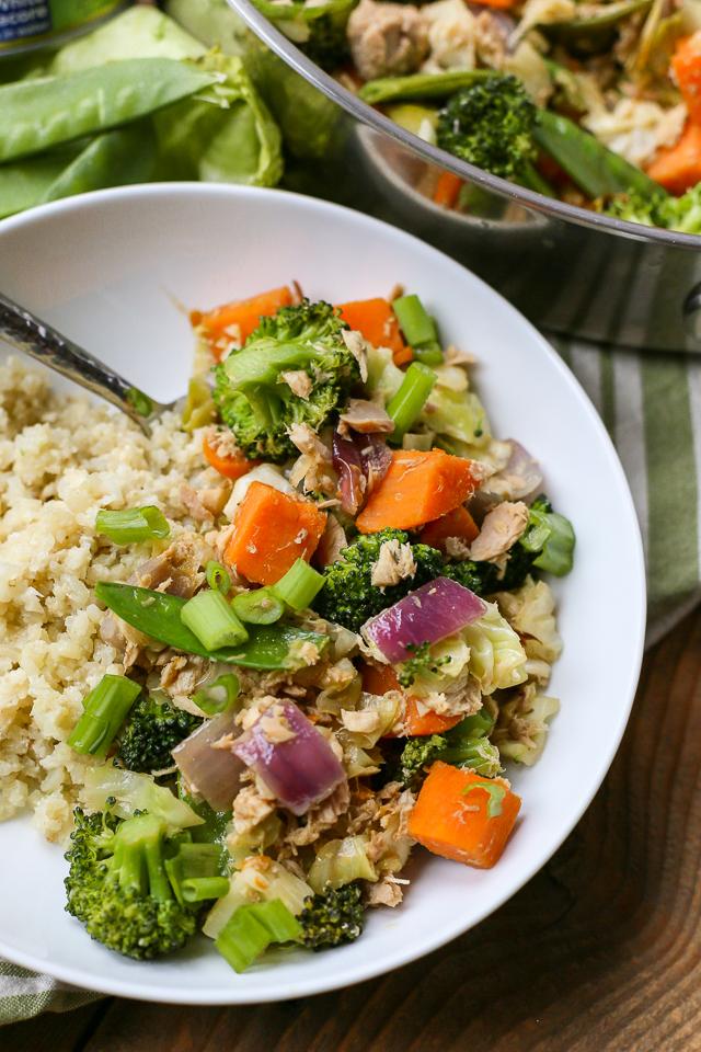 Healthy Tuna Stir-Fry Recipe