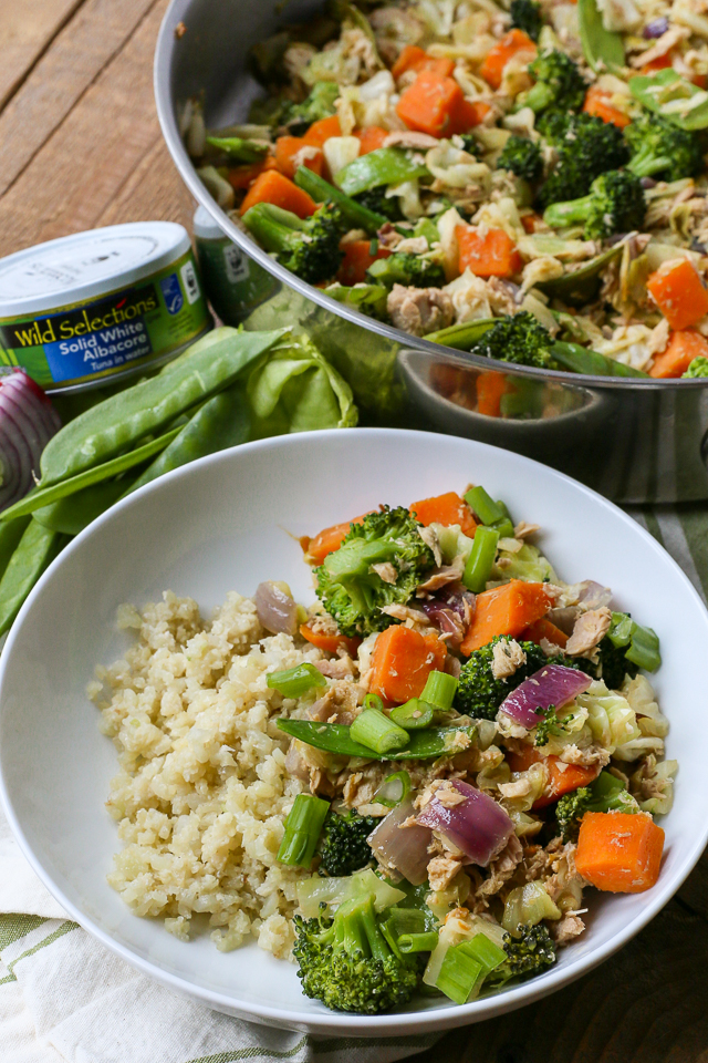 Healthy Tuna Stir-Fry Recipe